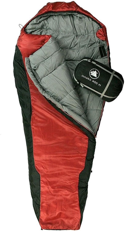 10T Schlafsack Innoko M -21° warm weich weich weich 2500g Mumienschlafsack 200x85 Rot   Schwarz 400g m² B00D50STEQ  Erste Gruppe von Kunden 3c913c