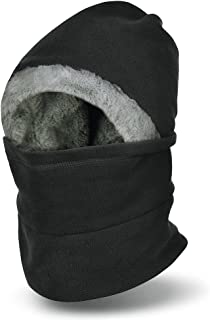 VBIGER Winter Warm Balaclavas Hat Neck Warmer Scarf Face Cover Skiing Cap for Men Women