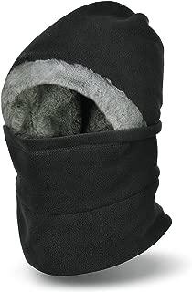 VBIGER Winter Warm Balaclavas Hat Neck Warmer Scarf Face Cover Skiing Cap for Men Women