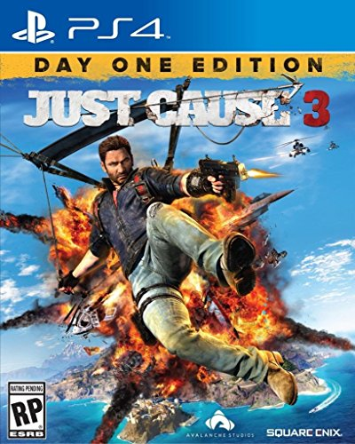 JUST CAUSE 3 DAY ONE EDITION PS4 PLAYSTATION 4