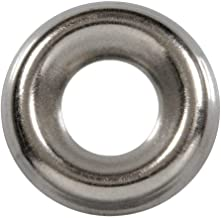 SNUG Fasteners (SNG790) 500 Qty #6 Stainless Steel Countersunk Washers | 304 SS Finishing Cup