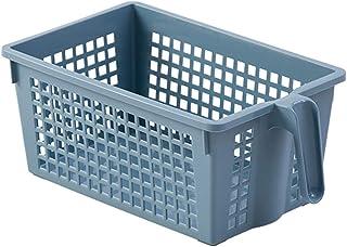 HLYT-0909 Boîte de rangement Paniers de rangement en plastique, boîtes de rangement creuses rectangulaires pour cuisines m...