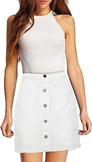 lightweight jean skirt