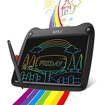 Black LCD Writing Tablet 9 Inch Electronic Writing and Drawing Board Erasable Reusable Doodle Pad Tablet for Kids and Adults at Home Office School