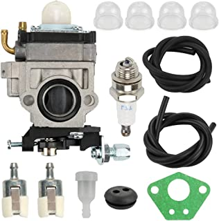 Fuel Li Carburetor Carb Tune-Up Kit for 43cc 47cc 49cc 50cc 2 Stroke Mini Pocket Bike Chopper ATV Quad Dirt Bike Super Gas...