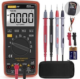 Autoranging Multimeter Test for Temperature AC/DC Voltage, Current, Resistance,..