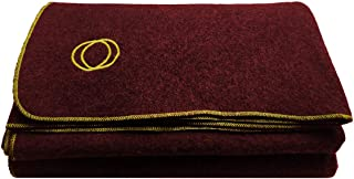 Orion Outpost Trading Co. Vestige Military Wool Blanket, 4+ lbs, We Donate 1 Blanket for Every 5 Sold, 66 x 84