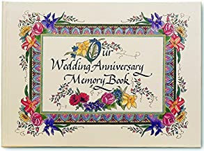 Nittany Quill Watercolor Illustrated Wedding Anniversary Memory Book