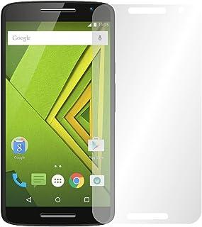 """2 x slabo displayfolie för Motorola Moto X Play displayskyddsfolie tillbehör """"Crystal Clear"""" klar – gjord i Tyskland"""