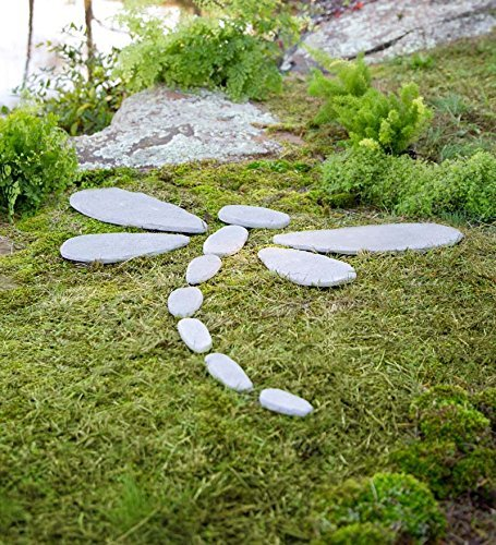 Wind & Weather Decorative Stones Dragonfly Garden Accent