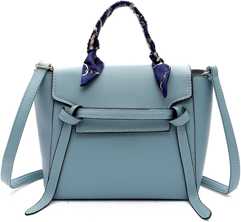 KYOKIM Damen PU Umhängetasche Crossbody Handtasche Vintage Commuting Fashion,Blau-OneGröße B07JL1NRD3  Wert
