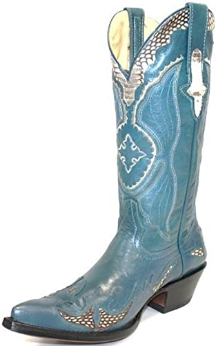 GO& 039;WEST, Damen Stiefel & Stiefeletten blau blau
