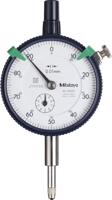 Mitutoyo 2046sb Messuhr Din 878 Messbereich 10 Mm Ablesung 0 01 Mm Baumarkt