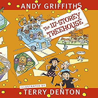 The 117-Storey Treehouse audiobook cover art