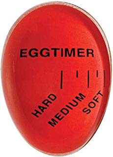Colour Changing Egg Perfect Egg Timer Boiled Egg Timer -RED
