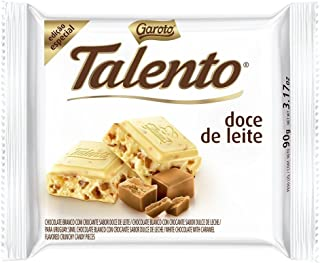 Garoto - Talento - Dulce de Leche - 3.53 Oz (PACK OF 02) |