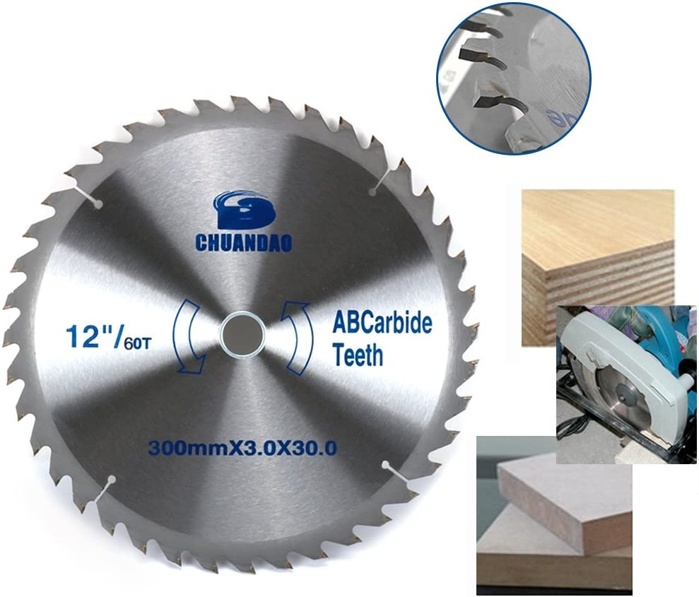 12inch 60T Carbide Circular Saw Blade New arrival Opening large release sale Tool Cutting For Wood Cut