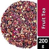 amapodo Früchtetee 200g Tee Früchte lose Hibiskus Zimt Hagebutte Nelken Ingwer Korinthen Kinder lieben diesen Früchte-Tee 100% Natürlich ohne Zucker