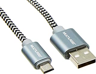 Cabo Micro 1,5M Usb Multilaser Cinza - WI341