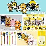 Kakao Friends Notebook Pen Sticker Sticky Memo Assorted Gift Set (5pcs / Random)
