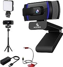 AutoFocus 1080P Webcam Kits, NexiGo FHD USB Web Camera, Privacy Cover, Tripod Stand, Video Conference Lighting, USB Microp...