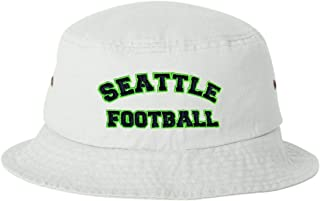 602acd5365207 Go All Out Adult Seattle Football Embroidered Bucket Cap Dad Hat