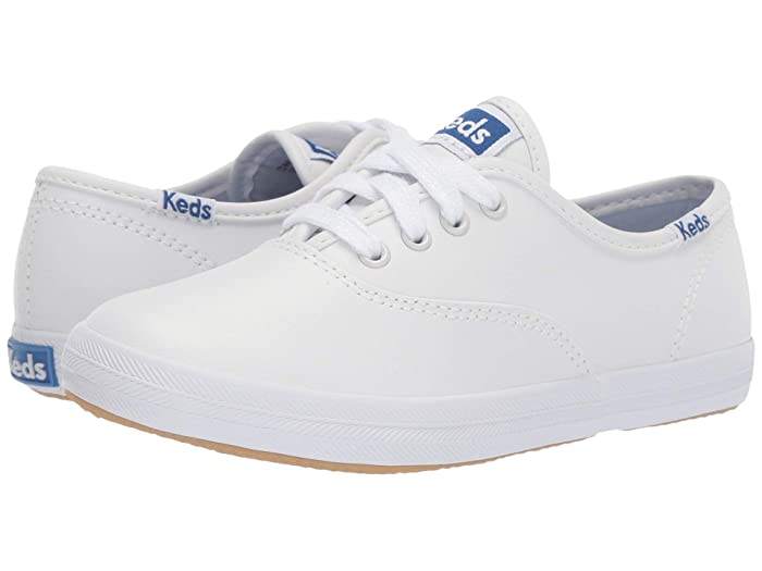 Vintage Style Children's Clothing: Girls, Boys, Baby, Toddler Keds Kids Original Champion CVO Little KidBig Kid White Leather Girls Shoes $44.95 AT vintagedancer.com