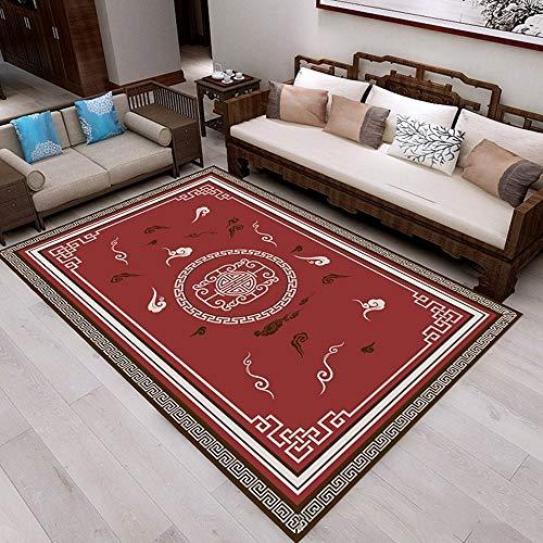 XTUK Home Decoration Bodenheizung Beständiger Teppich Farbechter, leicht zu reinigender Teppich Bodenmatte Schlafzimmer Rutschfester Teppich Urable Teppich Weicher Teppichboden Wohnzimmer Sofa