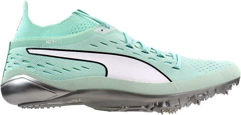 PUMA Mens Evospeed Netfit Sprint 2 Running Sneakers Shoes - Blue