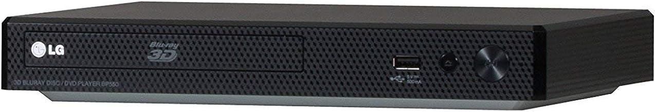 LG Electronics BP550 Blu-Ray Player with Wi-Fi (2015 Model) (Renewed)