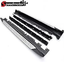 Speedmotor Compatible for BMW E70 X5 XDrive 3.0si 4.8i 2007-2012 Aluminum Side Step Nerf Bars Running Boards Rail Bar