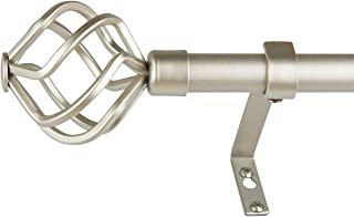 extended curtain pole