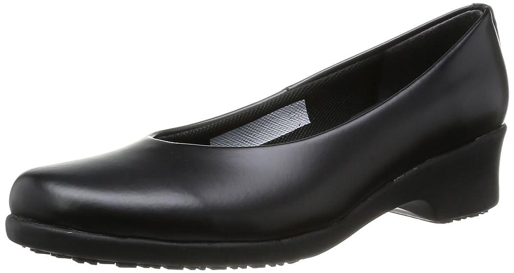 記憶ジムバーチャル[ミドリ安全] 作業靴 女性用 耐滑 パンプス ハイグリップ H900