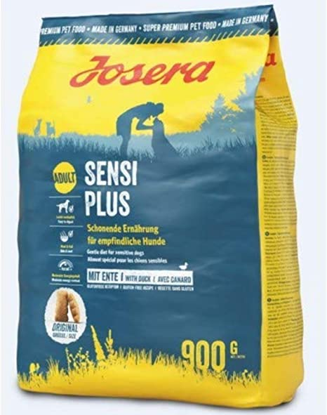 JOSERA Saco de comida para Perro - SensiPlus, 900 g, Perro