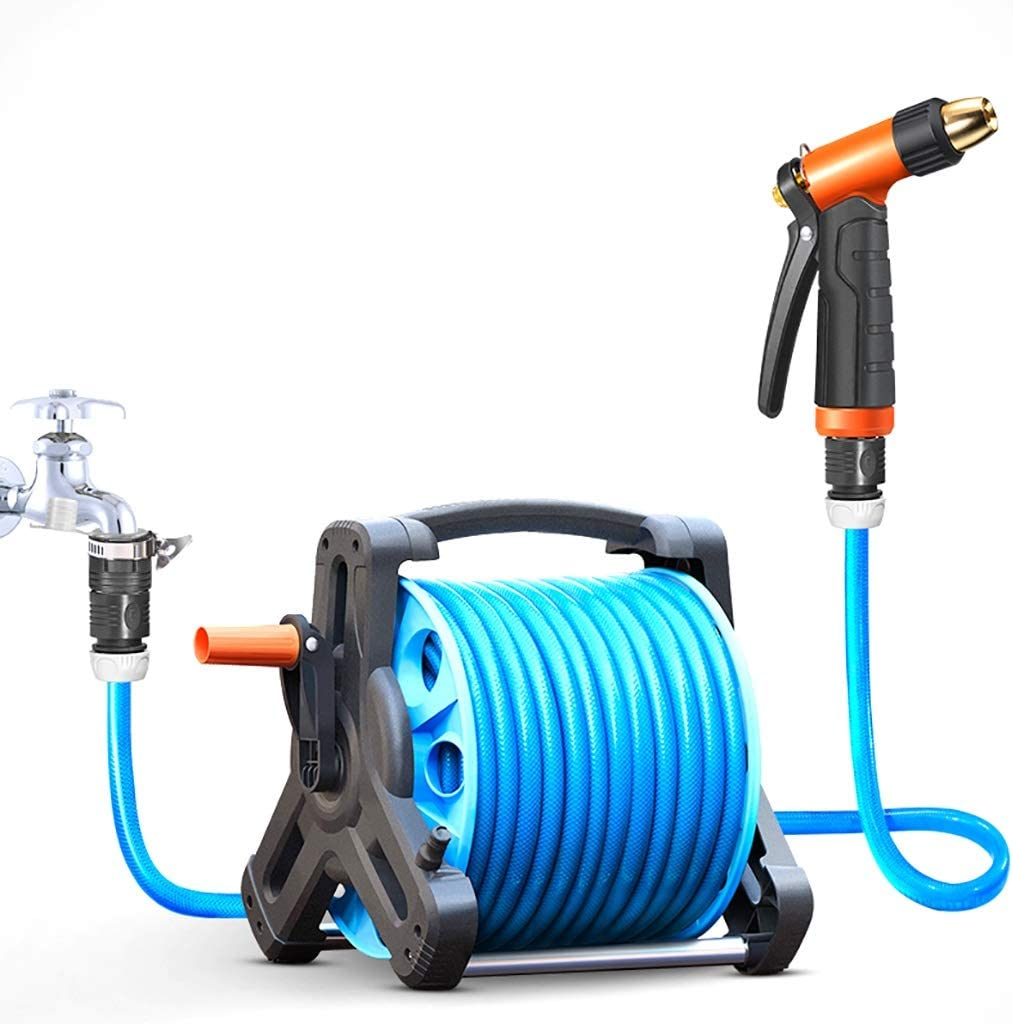 JHXL Garden Hose free shipping Set Water Excellent Pipe Ty Rack Household Storage Rocker