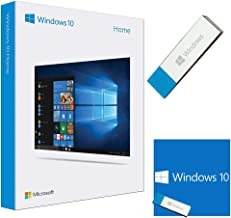 Windows 10 Home 32/64 bit English International | PC | USB Flash Drive | NEW