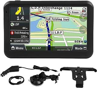 navigationsgeräte für auto 5 zoll  Satellitennavigationssystem Universal 5 Zoll Touchscreen Autonavigator  Navigation 256 MB 8 GB mit rückseitigem Clip