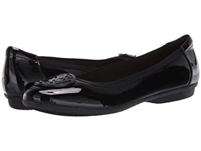 Clarks Gracelin Lola (Black Synthetic Patent) Women