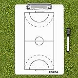 FORZA Tableaux Tactiques de Handball pour Coachs – Tableau Blanc de Stratégie pour Entraînements de Handball (Choix de Modèle) (Plaquette d'Entraînement)