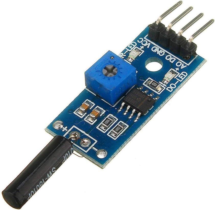 KEPUSHIYE Electronics kit NEW before selling ☆ 3V to 5V Open Attention brand Vibration Type Sw Sensor