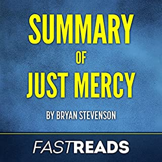 Summary of Just Mercy by Bryan Stevenson audiobook cover art