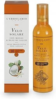 Velo solare L'Erbolario contenente Monoi e olio di cocco con SPF 10