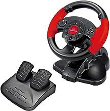 Esperanza Gaming Volante y pedales de acelerador y freno negro