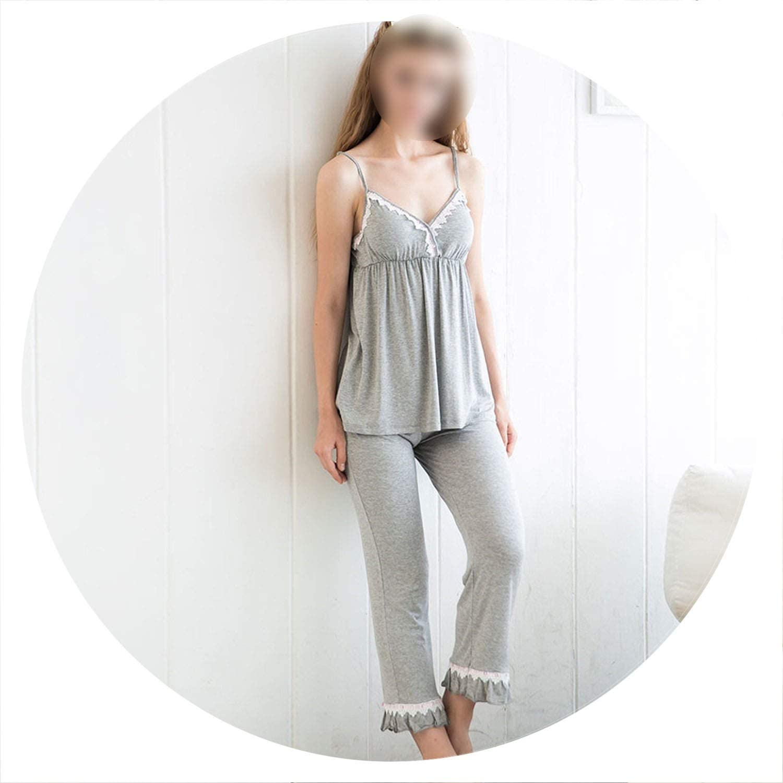 100Expectations 3 pcs Pajama Set Women's Long Sleeve Lounge Pyjamas Soft Loose Sleep Suit Sleepwear