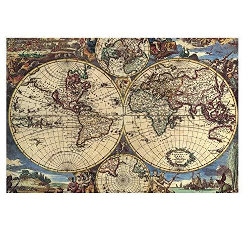 Mapa antiguo Mundo Globo Planeta Tierra Imagen abstracta