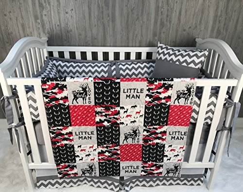Read About Baby Chevron , Baby Bedding , Woodlands , Buck , Camo , Deerly Loved , Neutral , Crib Bed...