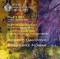 銈?????????????銈???銈广儻???銈?浣????Kletzki: Violin Concerto/Szymanowski: Violin Concerto No. 2)