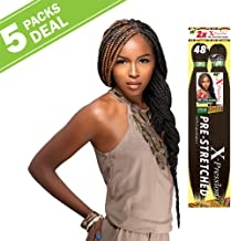 MULTI PACK DEALS! Sensationnel Synthetic Hair Braids XPRESSION 2X Pre-Stretched Braid 48