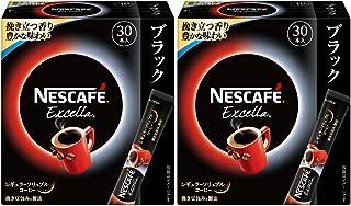ネスカフェ エクセラ スティック ブラック 30P ×2箱