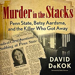 Murder in the Stacks audiobook cover art